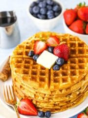 Waffle Recipes, Cake Recipes, All You Need Is, Homemade Waffles, Homemade Cakes, Smooth Cake, Vanilla Flavoring, Cookies Et Biscuits, Sugar Cookies