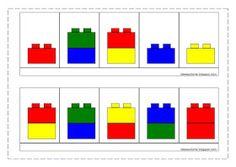 Modèles légos duplos Lego Duplo, Lego Math, Montessori Activities, Kindergarten Activities, Book Activities, Lego For Kids, Puzzles For Kids, Basic Coding, Preschool Colors