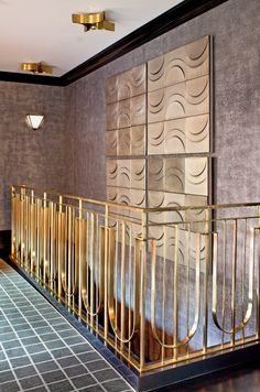 KELLY WEARSTLER | INTERIORS. Bellagio Residence, Stairwell