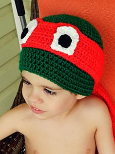 a4e6b3858d3 This is a custom version of a hat representative of the Teenage Mutant  Ninja Turtles.