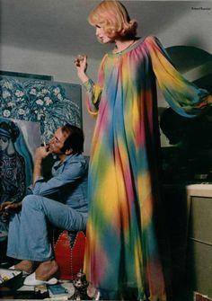 Guy Laroche 1973  #1973;70's fashion  HIGHLIGHTS 60,70,80'