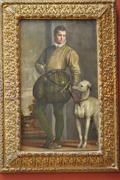 metropolitan museum of art paintings | Metropolitan Museum of Art, Veronese, Boy with a Greyhound by Paolo ...