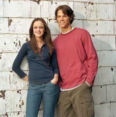 Alexis Bledel and Jared Padalecki
