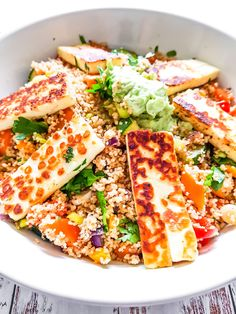 Halloumi, Couscous, Salads, Bread, Cooking, Food, Recipes, Kitchen, Brot