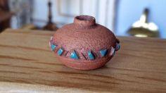 Dollhouse Miniature Southwestern Native American Pottery Julie Hinkle 1:12