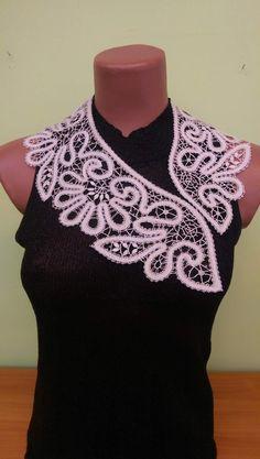Bruges Lace, Bobbin Lace, Crochet Clothes, Crochet Top, Accessories, Tops, Women, Fashion, Templates