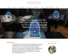 Eat Love Savor Magazine: Discover The Shield, the invisible protection system for free access display by Display Case, Luxury Travel, Touch, Magazine, Eat, Free, Glass Display Case, Display Window, Magazines