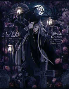 Black Butler Undertaker, Black Butler Anime, Shinigami, Me Me Me Anime, Anime Guys, Der Undertaker, Anime Manga, Anime Art, Anime Siblings