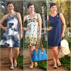 LEILA DINIZ *blog: 3 LOOKS DE VERÃO usando vestidos leves, o primeiro...