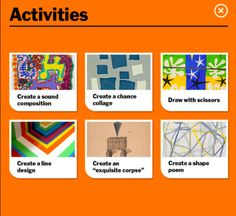 Moma Art Lab app - All you Arts Ed teachers out there if you have an IPad this is an app you'll want to get there are some good ideas in here