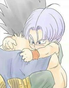Trunks e Vegeta Goku Y Vegeta, Son Goku, Rosario Vampire, Vegeta E Trunks, Trunks Y Mai, Sword Art Online, Hatsune Miku, Couple Manga, Couples Anime