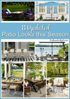 8 Updated Patio Looks this Season