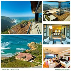 Houses For Sale in Pezula Golf Estate. View our selection of apartments, flats, farms, luxury properties and houses for sale in Pezula Golf Estate by our knowledgeable Estate Agents. Cliff Edge, Golf Estate, Knysna, Crashing Waves, 3 Bedroom House, South Africa, Beautiful Homes, Coastal, Mansions