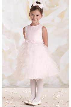 Beautiful Satin Knee-length Sleeveless Zipper Flower Girl Dresses