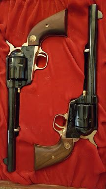 Single action revolvers
