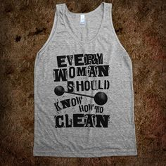 work out shirts - clean and press!