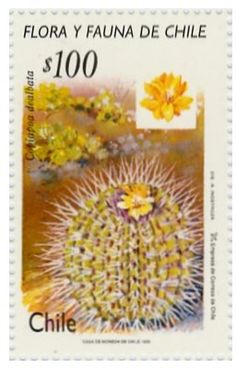 Sello: Flora y Fauna Chile (Chile) (Flora and Fauna of Chile) Mi:CL 1263 Cactus, You Are The World, Flower Stamp, Flora And Fauna, Postage Stamps, Chile, Succulents, Floral, Countries