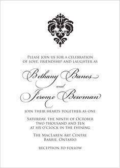 Wedding Invitation Pretty Chevron Pattern Future wedding ideas