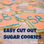 Easy cut out sugar cookies Just added my InLinkz link here: http://smartpartyplanning.com/marvelous-monday-link-party-20/