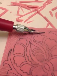 Really want to try this!!  How to Make Hand Carved Rubber Stamps - Seemingly Simple