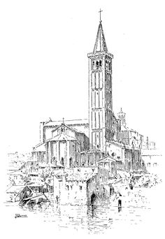 Churches of Venice :: Verona Saint Anastasia Church - biggest church in Verona
