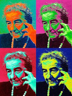 """Many times I was accused of conducting public affairs with more emotion than to reason. Well .. and if it's true? Those who can not cry with the heart nor know how to laugh."" (One of the phrases most influential women the world) you and former minister of Israel Golda Meir"