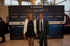 El popular radiofonista Justo Molinero, presidente y fundador de Radio Tele-Taxi, acompañado de su esposa / DANNY CAMINAL