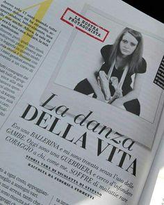 Sul n.17 di #confidenzetraamiche, #mondadori, la storia di una protagonista straordinaria: Nicoletta Di Stefano. Della sua danza della vita. In edicola. #federicaferretti