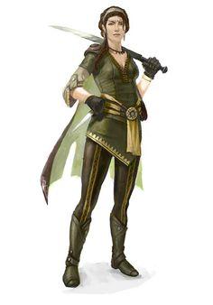 Samila Khadim - The Brigand [fighter, rogue, ranger]