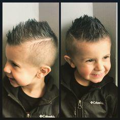 Mohawk Hairstyles, Fohawk Haircut, Baby Boy Hairstyles, Latest Hairstyles, Black Women Hairstyles, Little Boy Mohawk, Boys Mohawk, Short Mohawk, Little Boys