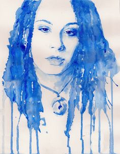 Image result for watercolor self portrait