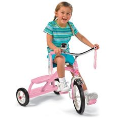 Radio Flyer Girls Classic Dual Deck Tricycle, Pink coupon| Games Information  $39.95