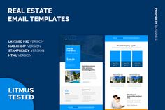 Real Estate Email Templates by Shadiq Jaya  on @creativework247