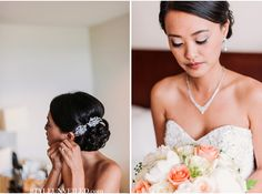 beautiful bride / A Chicago Real Wedding Photographed by Two Birds Photography / via StyleUnveiled.com