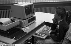 Had one of these. I think it cost about $2000.  The IBM PC 5150. Introduced in 1981, the original IBM PC 5150 featured an Intel 8088 4.77 MHz CPU and 16-256k of RAM, in a now-familiar beige box that could house two floppy drives. It could run PC-DOS or CP/M (and later other operating systems).