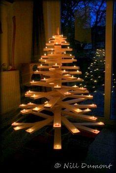 Vila Dumont: Árvores de Natal com Pallets – II – Novas Ideias. Aprenda a fazer a sua aqui no blog da Vila, tudo passo a passo.