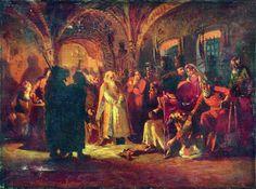 Boris Morozov and Ivan the Terrible - Konstantin Makovsky