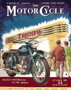 The 1952 monumental Triumph | by bullittmcqueen