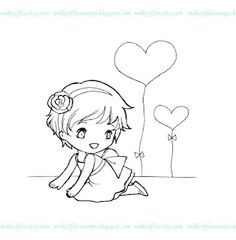 MilkCoffee Digi Stamps: free digital Stamps   Cute and good quality digital stamps, perfect to make papercraft, card, scrapbook, or anything you want to do with printed digital images :)