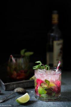 ... strawberry mojito ...