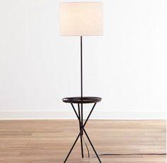 Jonathan Adler Meurice Bronze Tray Table Floor Lamp Look 4 Less