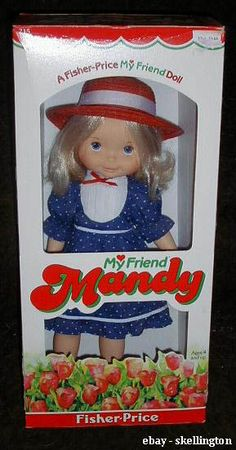 my mom's doll from when she was little. i actualy have it now. kind of ironic being my name...