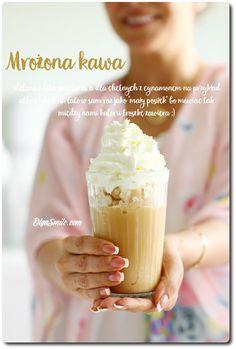 kawa mrożona Iced Coffee, Coffee Cups, Frozen Coffee, Latte Macchiato, Coffee Recipes, Fun Drinks, Peanut Butter, Food And Drink, Smoothie