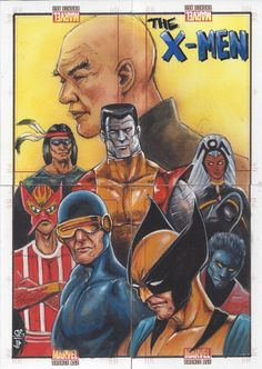 Details about Sketch Jason Potratz / Jack Hai ~ X-Men 4 Card Puzzle ~ EL Marvel Bronze Age Yes folks, for those of you who are new to collecting, this is 4 separate sketch cards that combine to form one image!  Amazing artwork! Two Artists!   #xmen #sketch #art #artist #sketchcard #drawing #puzzlesketch #hobby