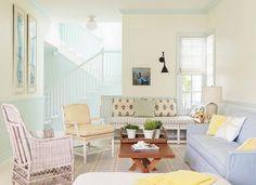 Trend Idee Im Sommer   Wohnzimmer In Bunten Pastelltönen