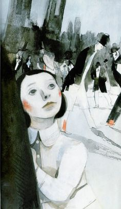 My Letter to the World and Other Poems/ Emily Dickinson/ Kids Can Press, 2008. Illustrator: Isabelle Arsenault #biblioteques_UVEG