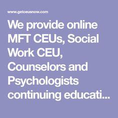 social work online course