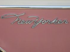 Vintage Vehicle Logotypes - and I love that this is pink!