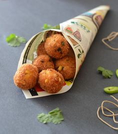 From my heart: Corn and Cheese balls