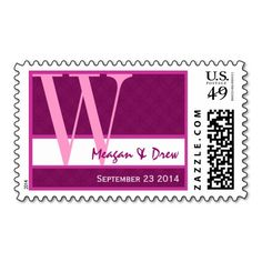 >>>Hello          	Pink and Fuchsia Wedding Monogram W Ver003 Postage           	Pink and Fuchsia Wedding Monogram W Ver003 Postage lowest price for you. In addition you can compare price with another store and read helpful reviews. BuyThis Deals          	Pink and Fuchsia Wedding Monogram W V...Cleck Hot Deals >>> http://www.zazzle.com/pink_and_fuchsia_wedding_monogram_w_ver003_postage-172433479644210306?rf=238627982471231924&zbar=1&tc=terrest